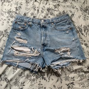 Levi's 501 High-Waisted Denim Short